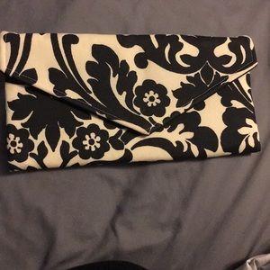 Handbags - NWOT Damask envelope clutch